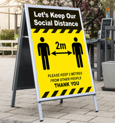 Social Distance A board